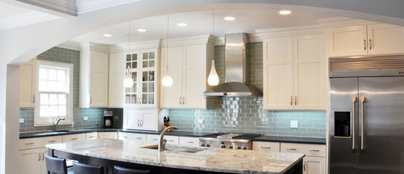 Two Toned Kitchen Design And Remodeling Chicago