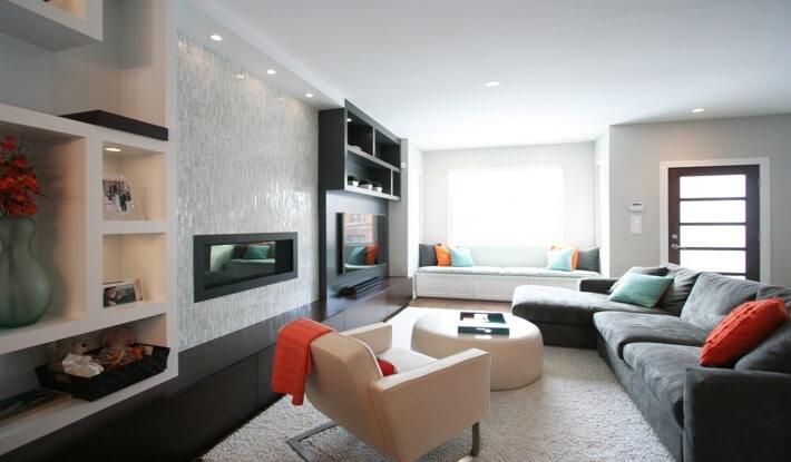 Interior Design Chicago -Fireplace Design and BuiltIns