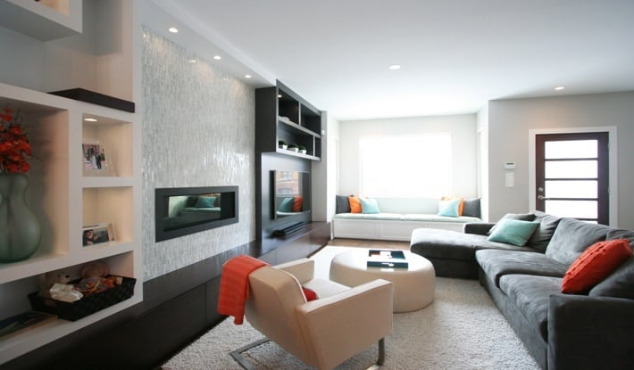 Interior Design Chicago -Fireplace Design and BuiltIns
