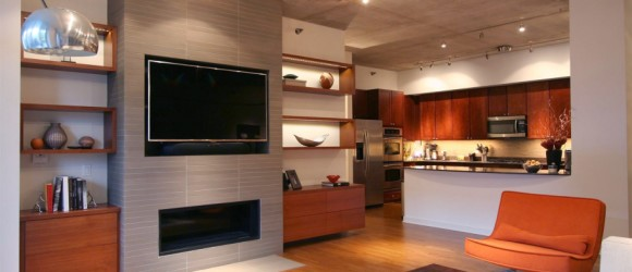 Floating Shelves Design Chicago