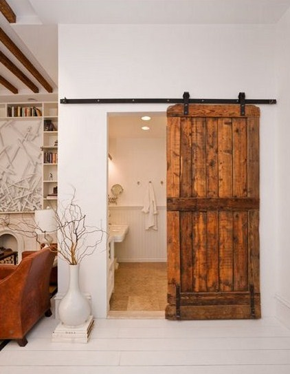 This method still has the benefits of your typical pocket door but it is used in a decorative fashion and allows you to showcase your door in a unique way. & Pocket Doors
