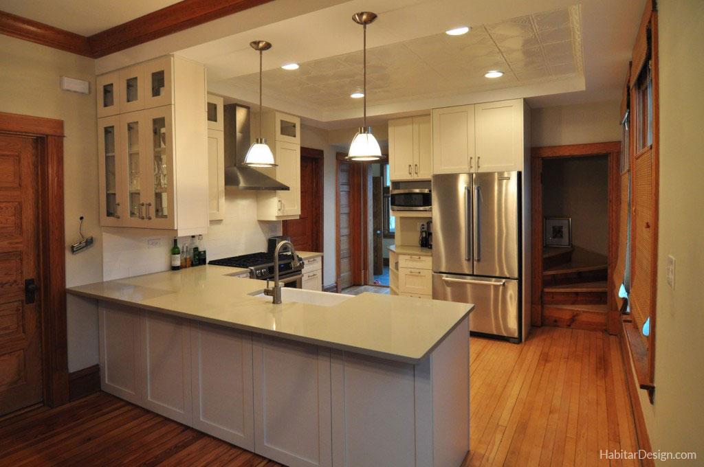 Kitchen remodeling chicago habitar design - Chicago kitchen design ...