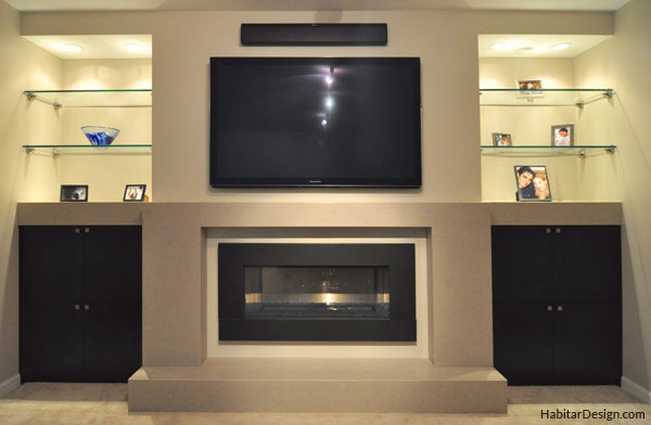 Fireplace And Entertainment Center Designs