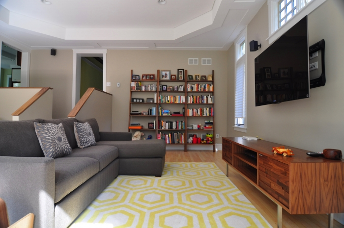 Family rooom outlets -Interior design chicago