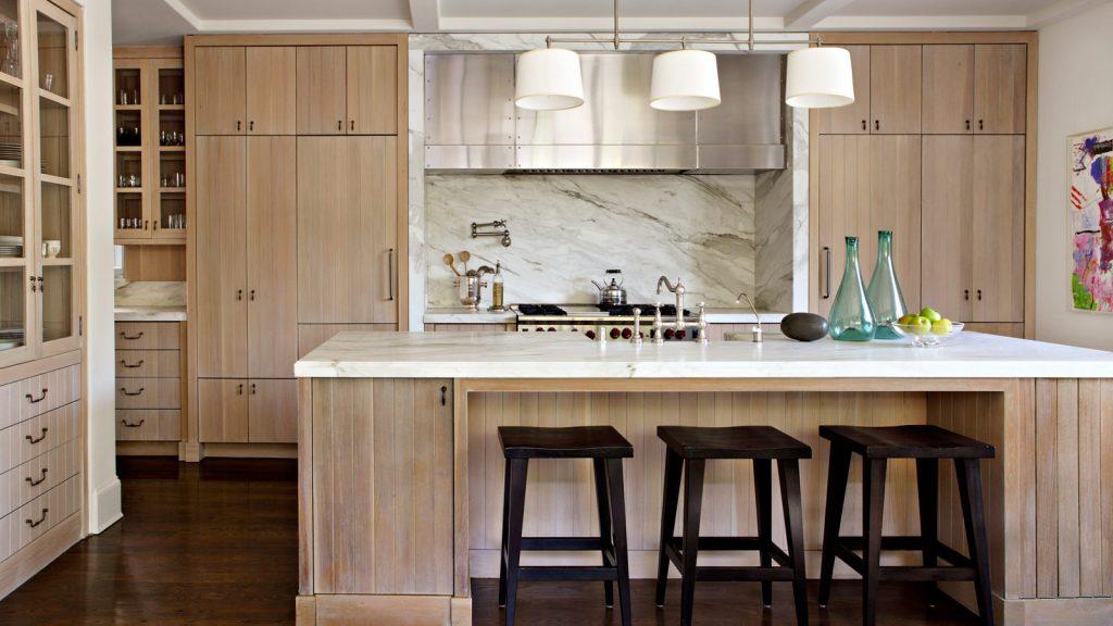 Natural hardwood, cabinet, cabinetry, cabinet finishes, cabinet design, natural wood finish