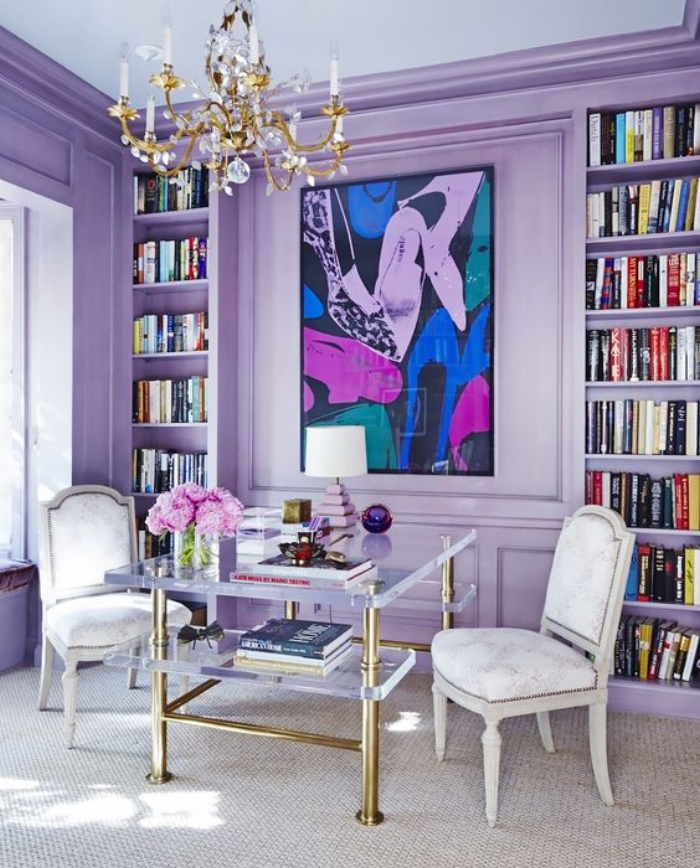 color of the year, ultra violet, pantone, habitar design, purple, paint, interior design