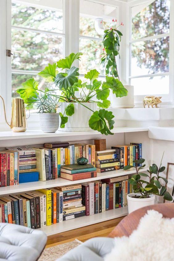 builtin, built in, shelving, book case, built in bookcase, open shelving, bookcase styling