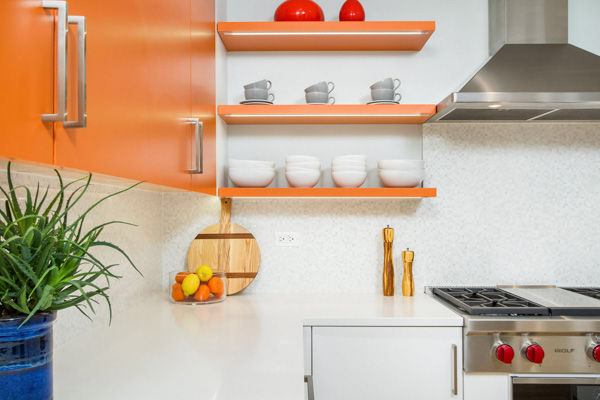 Dream kitchens with open shelving