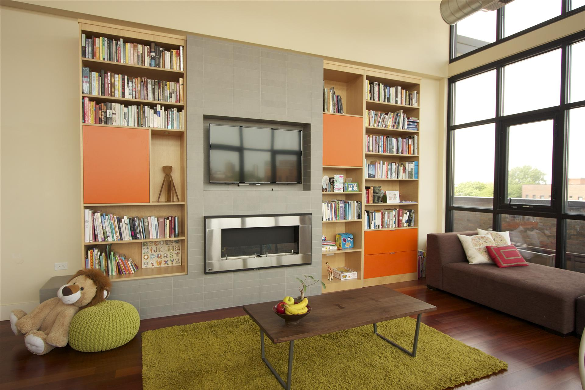 fireplace design chicago  built ins  and custom cabinets Toy Room Shelving Using 2X4 toy room shelving unit