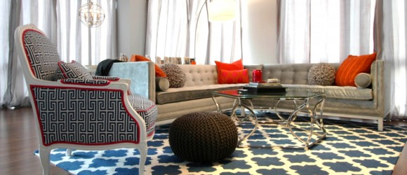 Mixing patterns with interior design