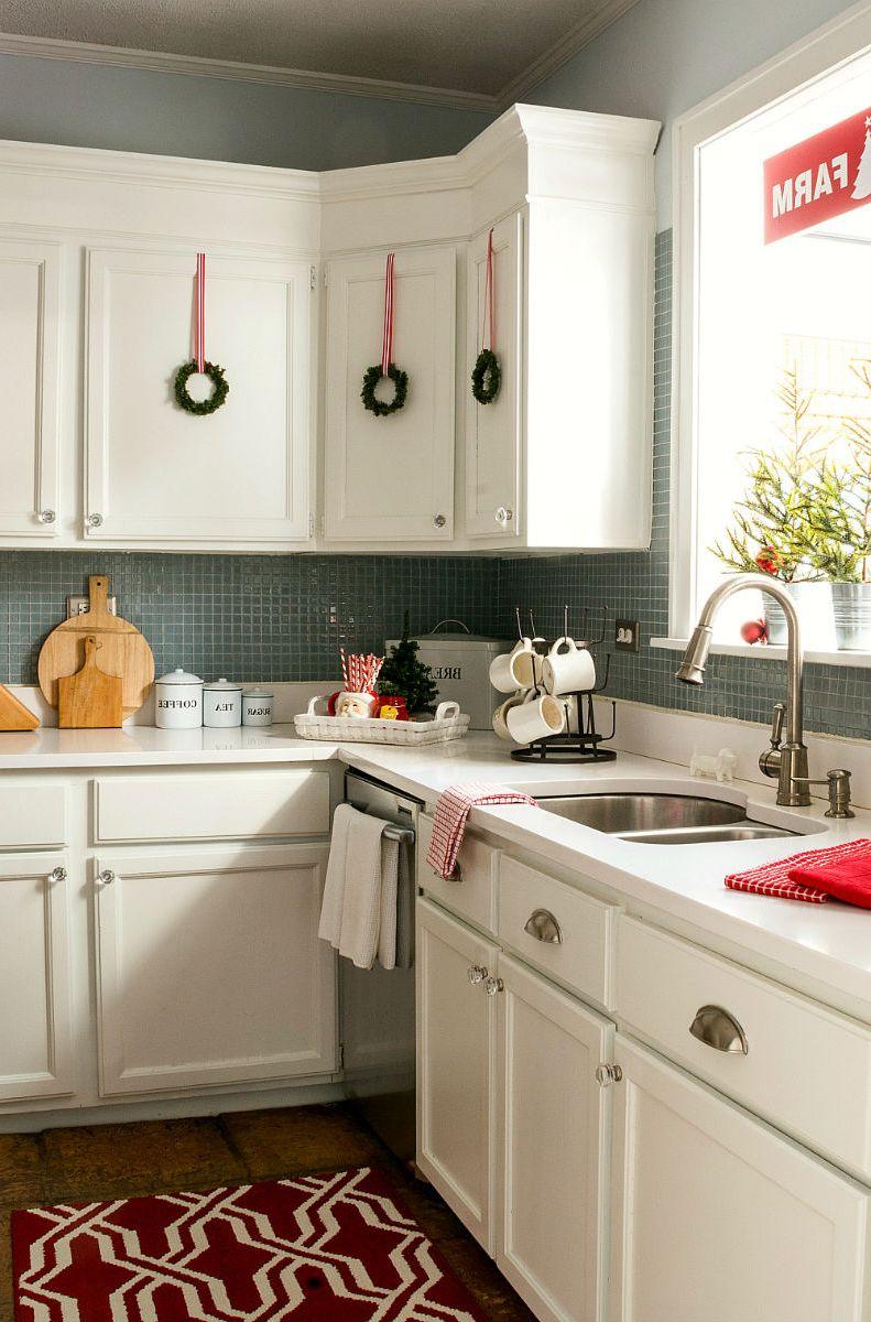 Go Minimal for the Holidays! - Habitar Interior Design on Modern:egvna1Wjfco= Kitchen Counter Decor  id=59771