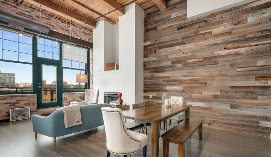 wood loft design