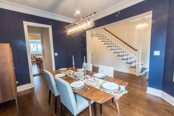 dining room remodel chicago