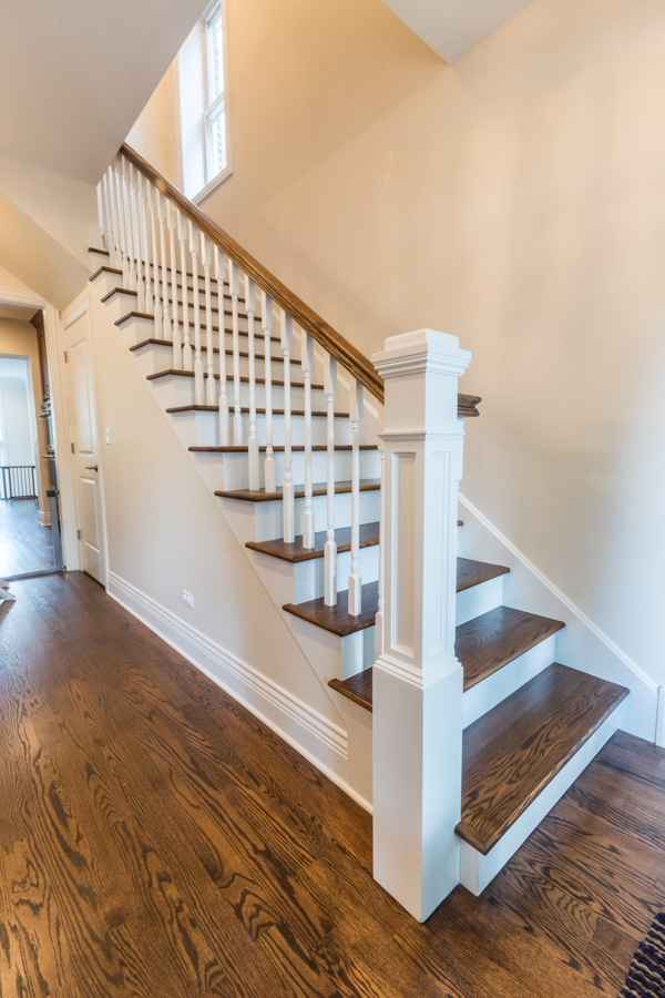 staircase remodel chicago