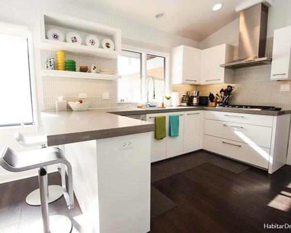 Kitchen shelf design