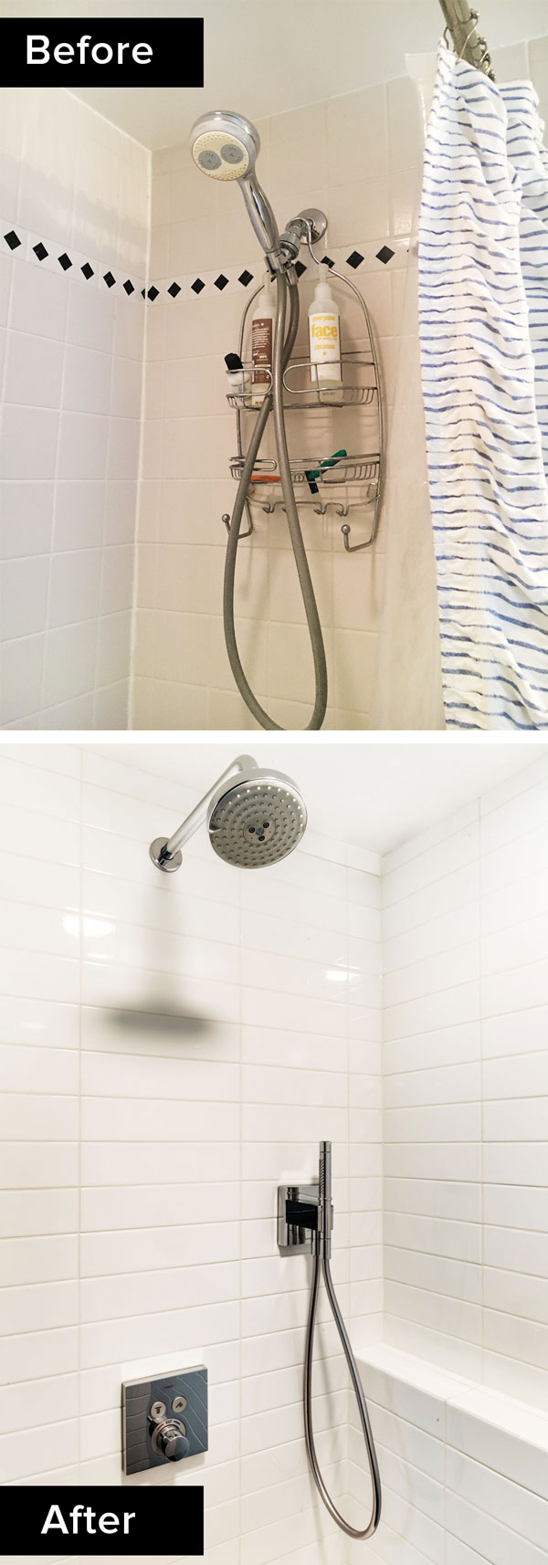 custom bathroom remodel, walk-in shower fixtures