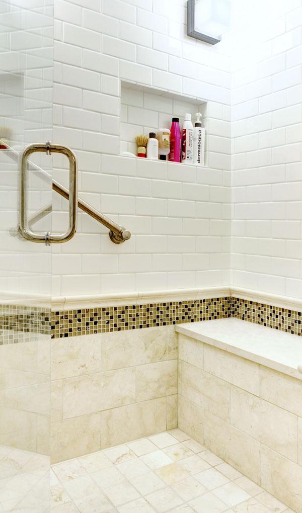 custom walk-in shower construction chicago