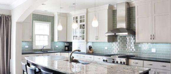 kitchen color tile design