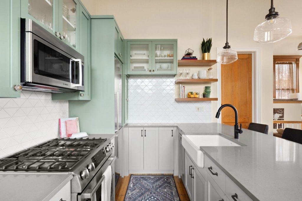 West Evergreen kitchen
