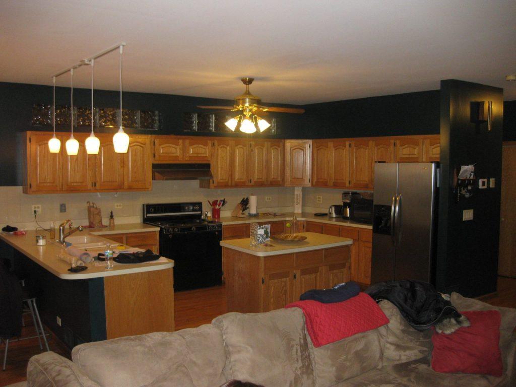before Chicago kitchen remodel