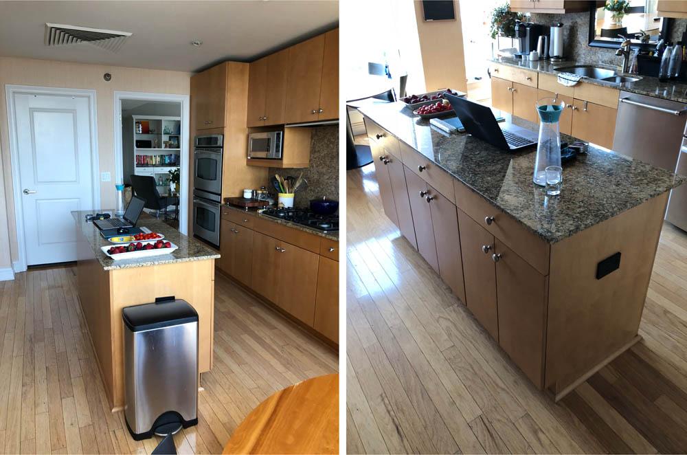 before kitchen design