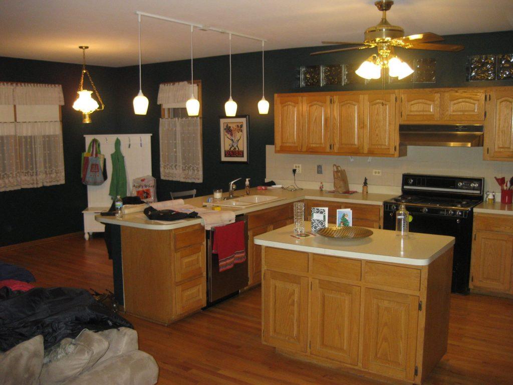 before kitchen update